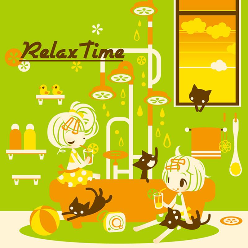 【夏コミケ/オリジナルCD】RelaxTime