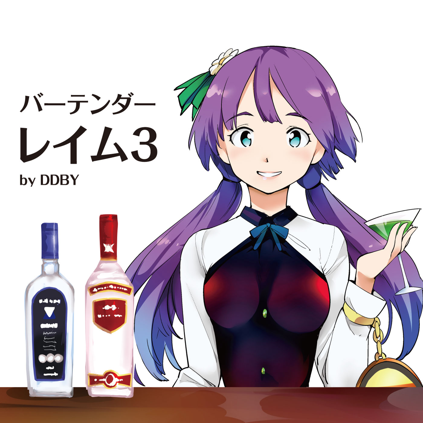 【冬コミケ/東方アレンジCD】バーテンダーレイム3