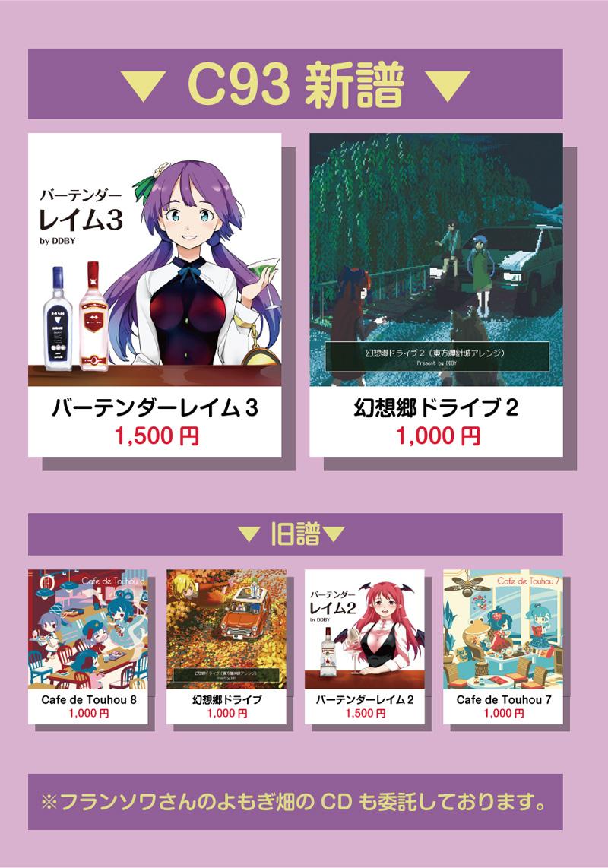 【同人イベント】コミックマーケット93頒布物まとめ